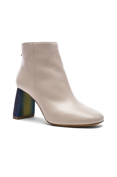Leather Cliffie Boots