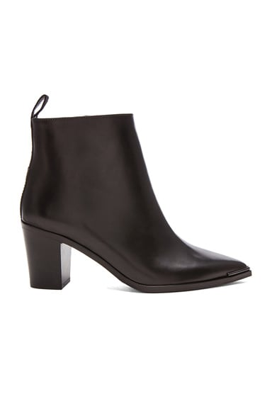 Acne Studios Loma Lambskin Boots in Black