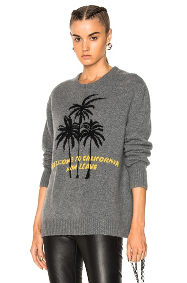 California Palm Cashmere Sweater