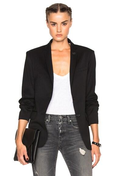 Adaptation Oversize Blazer in Black