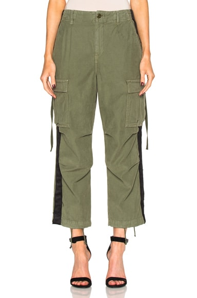 Adaptation Cargo Tuxedo Pants in Surplus