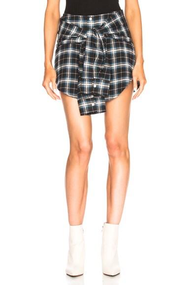 Tied Shirt Skirt