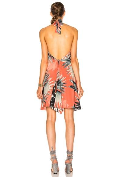 Maxi Flower Halter Dress