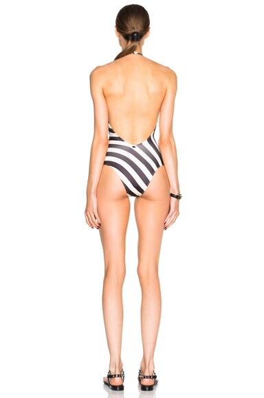Neoprene Halterneck Swimsuit