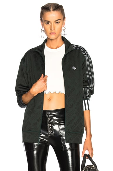 Adidas Originals By Alexander Wang Jackets Jacquard Track Jacket