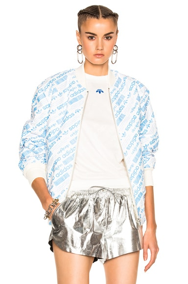 adidas by Alexander Wang Reversible Bomber in Cream White