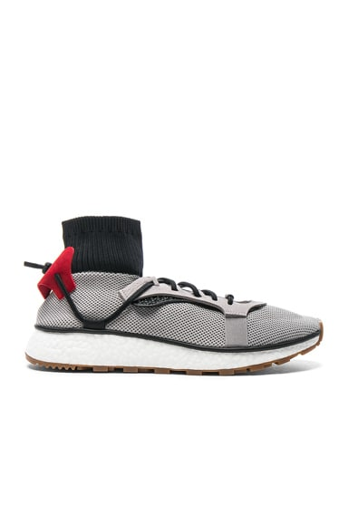 adidas by Alexander Wang Run Sneakers in Light Grey