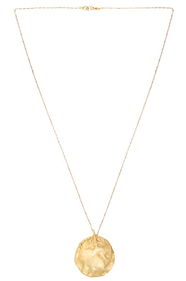 Afin Atelier Stingray Necklace in Gold