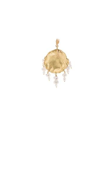 Afin Atelier Stingray Dreamcatcher Single Earring in Gold