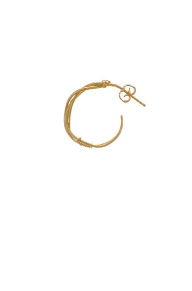 Bohemian Single Hoop Earstick