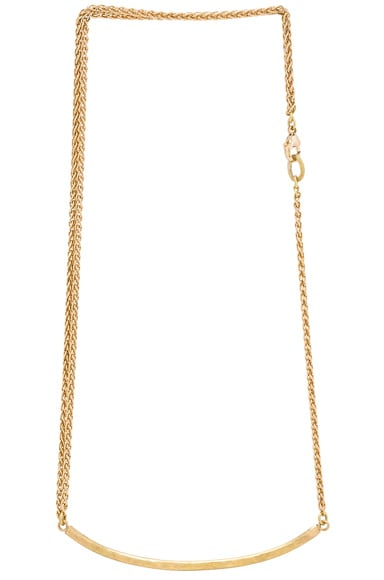 Afin Atelier Bonnie Necklace in Gold