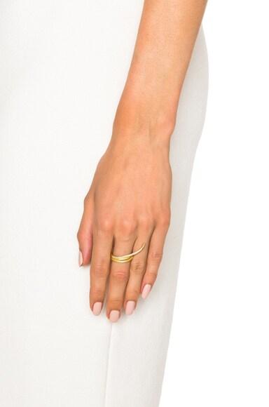 Large Fishtail Ring