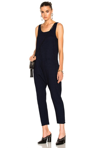 AG Adriano Goldschmied Abyl Jumpsuit in Indigo Knit One