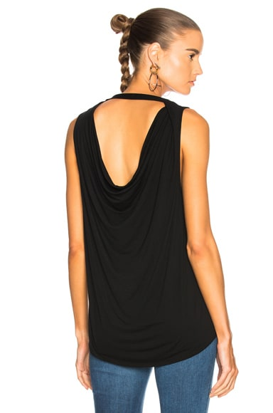 Devyn Drape Back Top