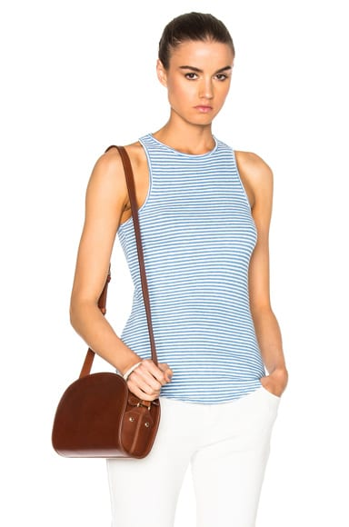 AG Adriano Goldschmied Kit Tank in Indigo Stripe