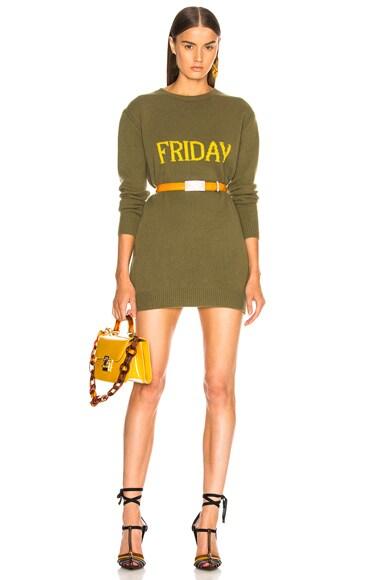 Friday Crewneck Sweater Dress