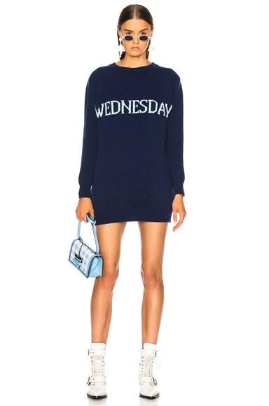 Wednesday Crewneck Sweater Dress