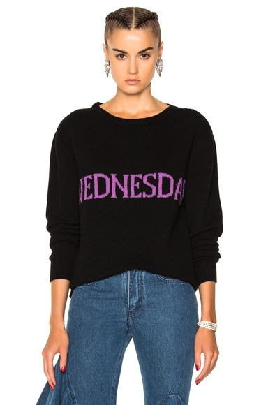 Wednesday Crewneck Sweater