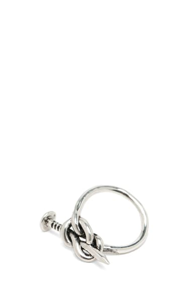 Knotted Nail Ring