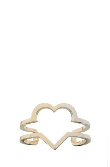 Heart Cut Out Cuff