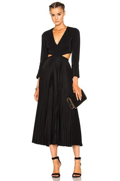 A.L.C. Josefa Dress in Black