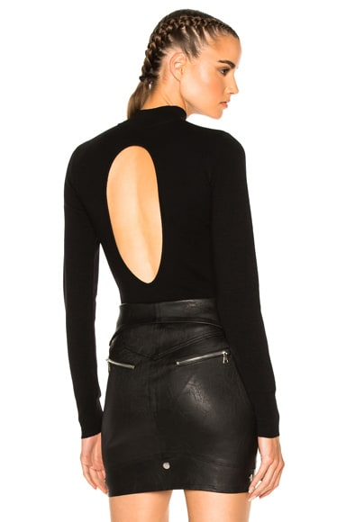 A.L.C. Tota Bodysuit in Black
