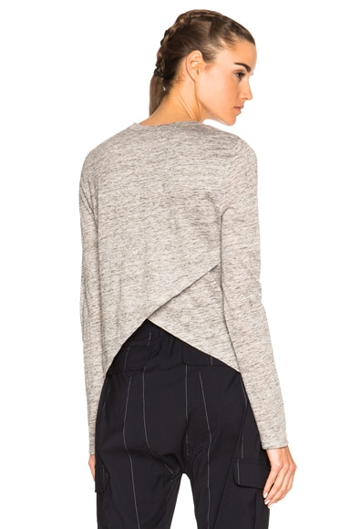 A.L.C. Nemen Top in Heather Grey