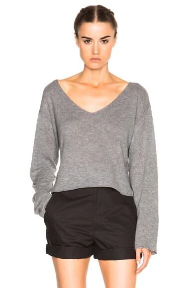 A.L.C. Martin Sweater in Heather Grey