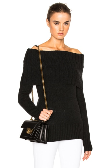 A.L.C. Monica Sweater in Dark Charcoal