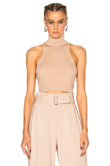 A.L.C. Presley Top in Bisque & Gold