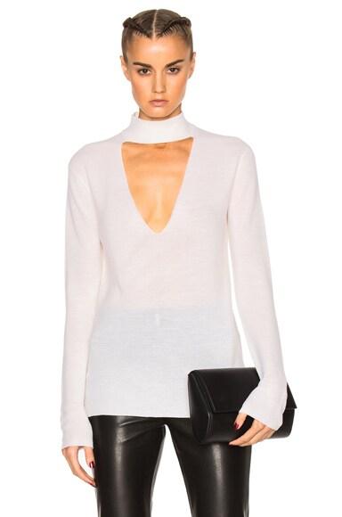 A.L.C. Caro Sweater in White