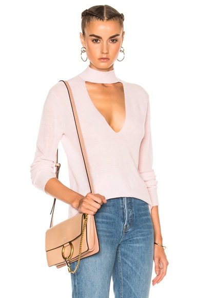 A.L.C. Caro Sweater in Petal Pink