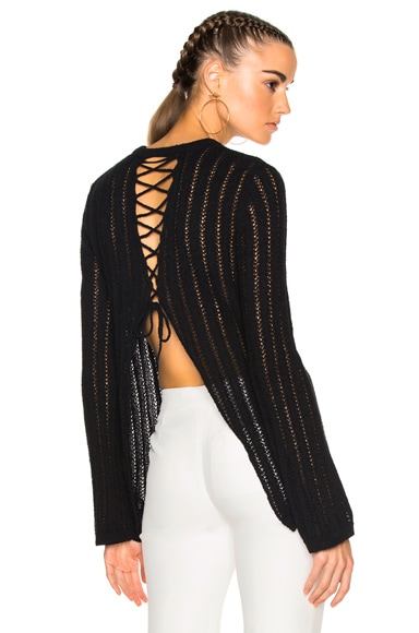 A.L.C. Miguel Sweater in Black