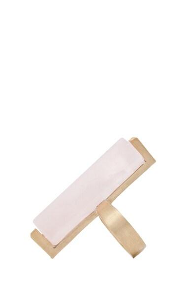 Long Crystal Ring