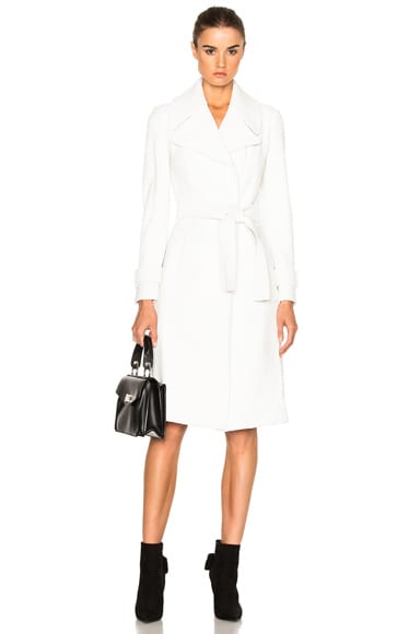 A.L.C. Richard Coat in White