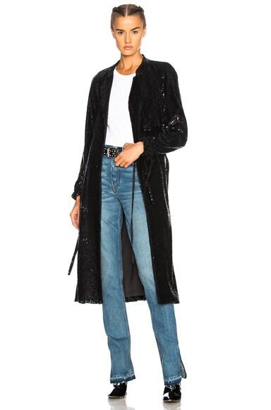 Sequin Holloway Coat