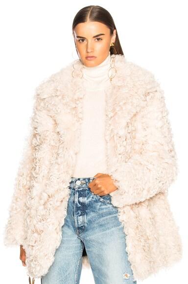 Stone Fur Coat