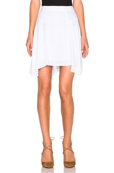 A.L.C. Anita Skirt in White