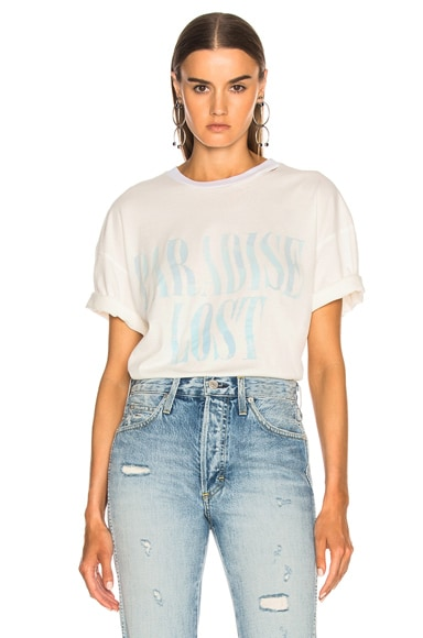Paradise Lost Distressed Short Sleeve Tee