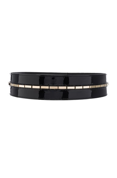 Patent Leather Waist Belt