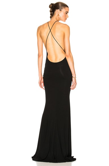 Cross Back Gown