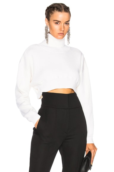 Rib Knit Cropped Sweater