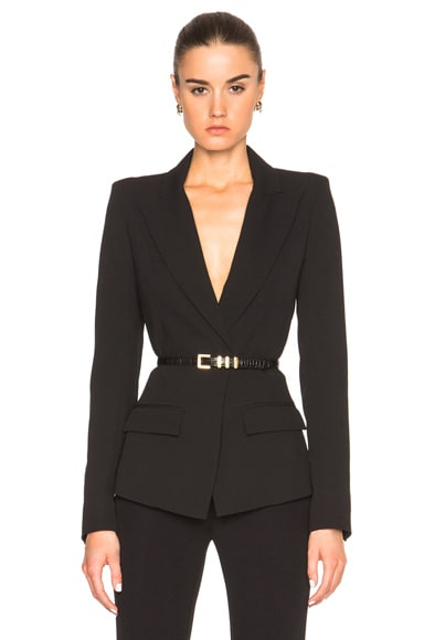 Alexandre Vauthier Wool Blazer in Black