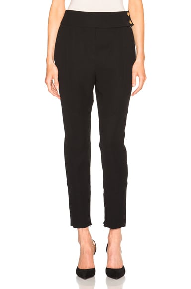 Alexandre Vauthier Trousers in Black