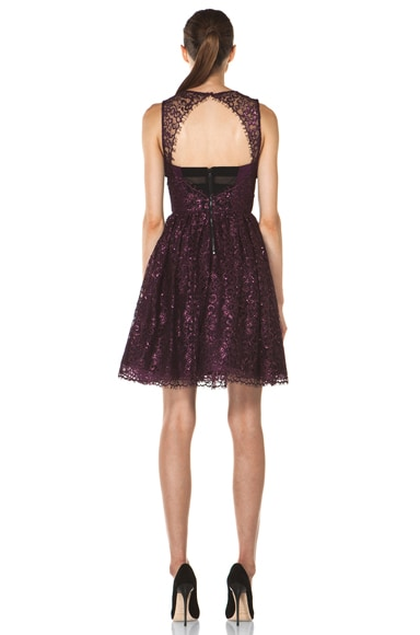 Ophelia Sleeveless Lace Top Dress