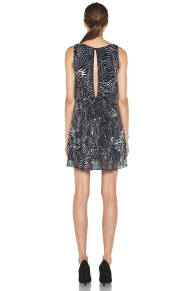 Cindy Embroidered Drop Waist Dress