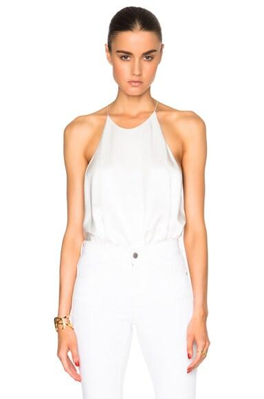 Alix Cornelia Bodysuit in Ivory