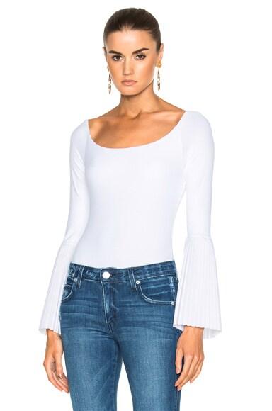 Alix Bennett Bodysuit in White