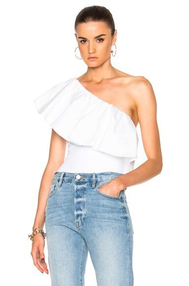 Alix Moore Bodysuit in White