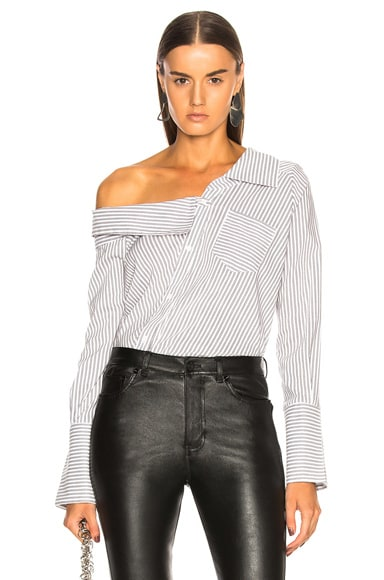 Striped Leonard Bodysuit